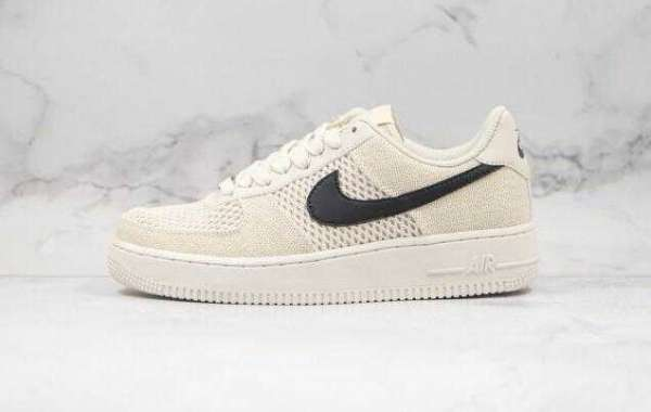 Shop Nike Air Force 1'07 Low Fossil color x Stussy