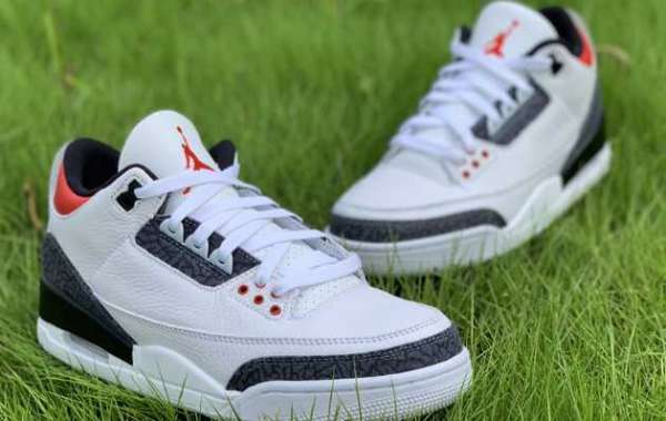 New Flame Red Air Jordan 3 new products are on the shelves!