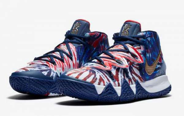 """Nike Kyrie S2 Hybrid """"Tie-Dye"""" Blue Red 2020 Newest CT1971-400 For Sale"""