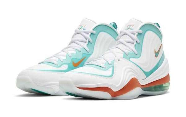 """Best Selling Nike Air Penny 5 """"Miami Dolphins"""" For Sale Outlet CJ5396-100"""