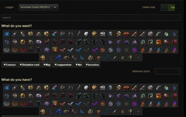 POE Currency contains many different spheres and reels