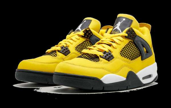 "Latest Release 2021 Air Jordan 4 ""Lightning"" CT8527-700 release information"