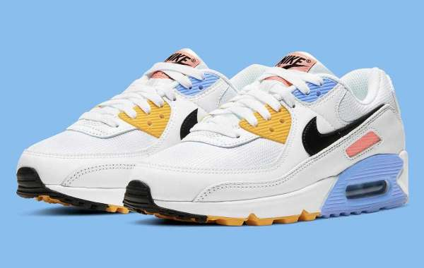 Popular Nike Air Max 90 White Solar Flare Pink Coming Soon
